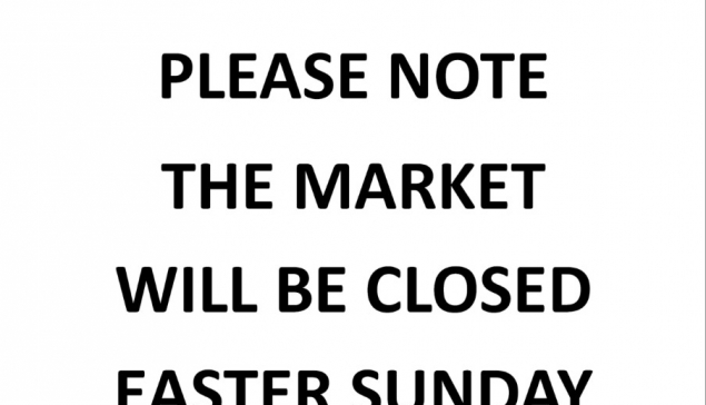 Market Closed - Easter Sunday